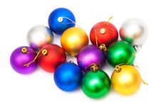 Free Beautiful Christmas Balls Stock Photos - 17217443