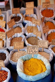 Free Spices And Herbs Royalty Free Stock Photography - 17217767