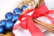 Free Christmas Or New Year S Setting Royalty Free Stock Photography - 17217807