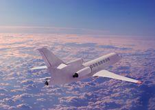 Free A Passenger Plane Stock Image - 17218021