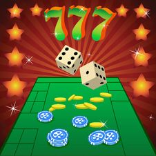 Free To Play Dice Stock Photos - 17218313