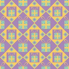 Free Cute Gift Pattern Stock Photography - 17218372