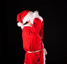 Free Santa Royalty Free Stock Photography - 17218437