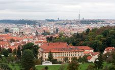 Free View Of Prague From The Top Stock Photo - 17218950