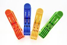 Free Clothes Pegs Stock Images - 17219204