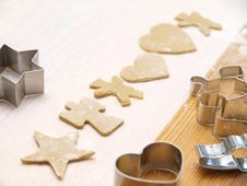Free Christmas Cookie Baking Royalty Free Stock Images - 17219219