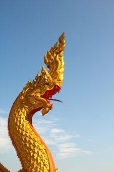 Thai Dragon Royalty Free Stock Photos