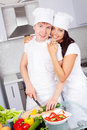 Free Two Cooks Royalty Free Stock Image - 17220166