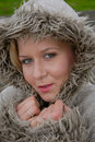 Free Pretty Female In Warm Coat Royalty Free Stock Photography - 17220637