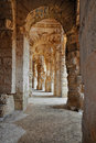 Free Passage In Ancient Roman Amphitheater Royalty Free Stock Photography - 17227027