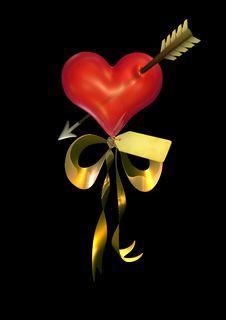 Free 3D Balloon Heart Royalty Free Stock Image - 17220466