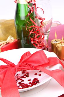 Free New Year S Or Valentine S Setting Stock Photos - 17220493