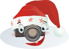 Free Smiling сhristmas Camera Stock Photography - 17221572