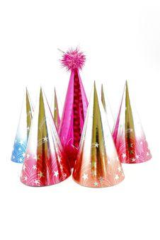 Free Caps Multi-coloured Royalty Free Stock Photo - 17221705
