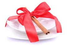 Free Christmas Tableware Stock Photography - 17221812