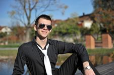 Free Attractive Young Man Royalty Free Stock Photography - 17222007