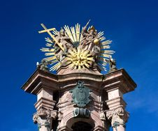 Free Banska Stiavnica - Holy Trinity Column Royalty Free Stock Images - 17222039