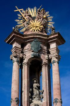 Free Banska Stiavnica - Holy Trinity Column Royalty Free Stock Photography - 17222057