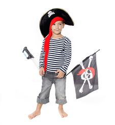 Free Portrait Of Young Boy Dressed As Pirate Stock Photo - 17222690