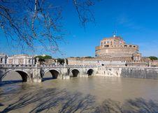 Castle Saint Angelo Stock Image