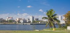 Free Havana City Panorama Near The Tunnel Entrance Royalty Free Stock Photography - 17222767