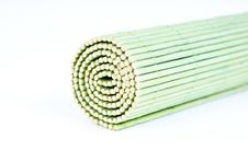 Wooden Roll Background Royalty Free Stock Photography