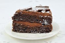 Free Chocolate Cake Royalty Free Stock Image - 17223016