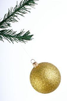 Free Golden Ball Stock Photo - 17223040