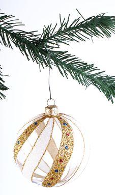 Free Transparent Christmas Decoration Royalty Free Stock Photo - 17223055