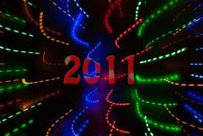 Free Abstract Color Lights Background Royalty Free Stock Photo - 17223115