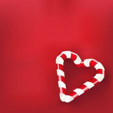 Free Heart From Sweets. Vector Stock Photography - 17223772