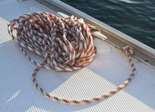 Free Sailboat Cord Stock Photography - 17224062