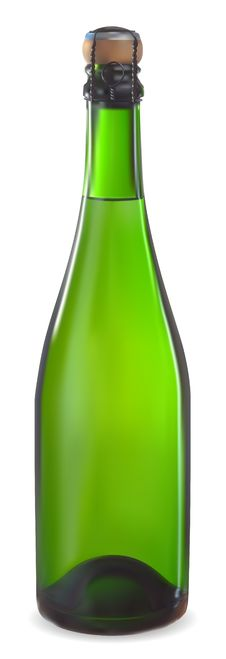 Free Champagne Bottl Stock Images - 17224214