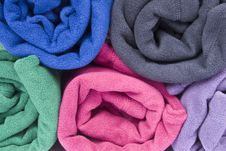 Free Colorful Polar Fleece Stock Images - 17225314