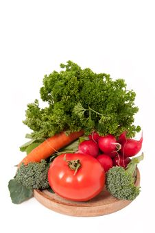 Free Fresh Vegetables Isolated Stock Images - 17225844