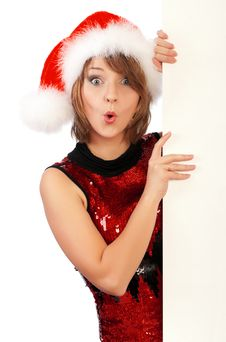 Free Christmas Girl Royalty Free Stock Photo - 17225855