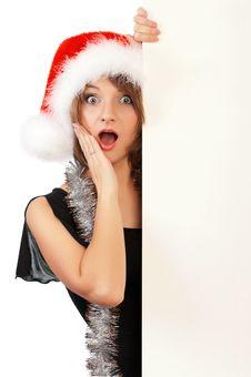 Free Christmas Girl Royalty Free Stock Photography - 17225857