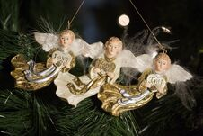 Free Angel Ornaments Stock Image - 17225891