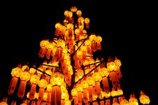 Free Paper Lamp, Lanterns Festival Royalty Free Stock Photos - 17226478