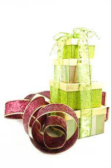 Free Box Ribbon Royalty Free Stock Image - 17226656