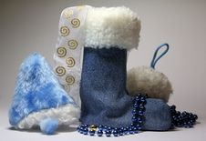 Free Bell Boots And Snow Royalty Free Stock Images - 17226739
