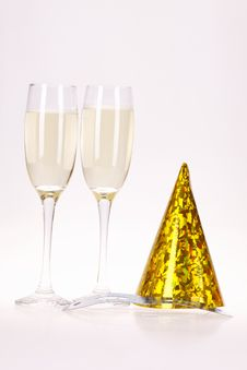 Free Champagne And Party Royalty Free Stock Image - 17226846