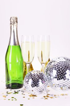 Free Champagne And Party Stock Photo - 17226930