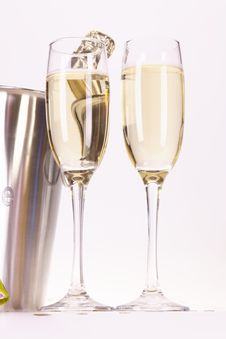 Free Champagne And Party Stock Photos - 17226963