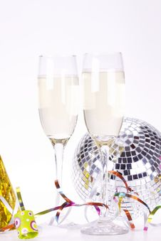 Free Champagne And Party Stock Photos - 17227233
