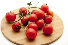 Free Cocktail Tomatoes Royalty Free Stock Photos - 17227578