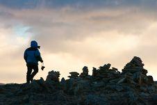Free Towards To A Rising Sun Stock Photos - 17227933