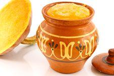Pumpkin Porridge Stock Images