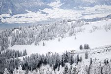 Free Winter Mountain Landscape Royalty Free Stock Images - 17229609