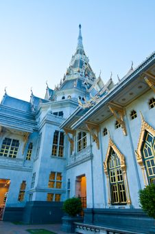 Free Sothorn Temple In Evening Light Royalty Free Stock Photo - 17229915